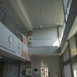 Doble altura del vestíbulo de entrada