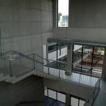 Triple altura de la escalera principal