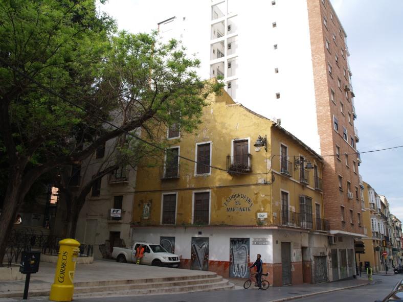 Plaza de San Pedro de Alcántara desde calle Carretería