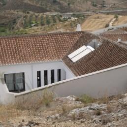 La casa desde la Sierra de Baños