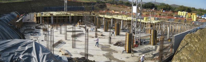 Panorámica de obra. 14|10|2008