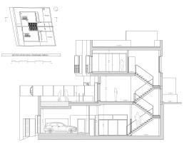 Sección AA por vivienda 1
