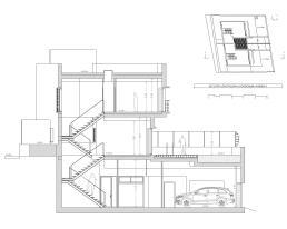 Sección BB por vivienda 2