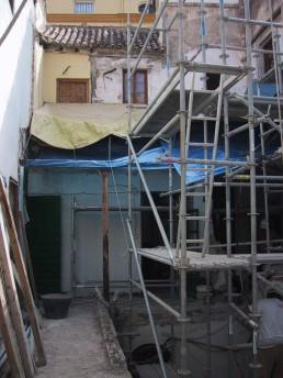Demoliciones previas en la crujía del patio [23|09|2005]