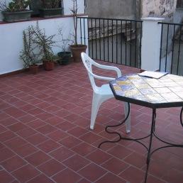 Vista de la nueva terraza habilitada [28|03|2006]