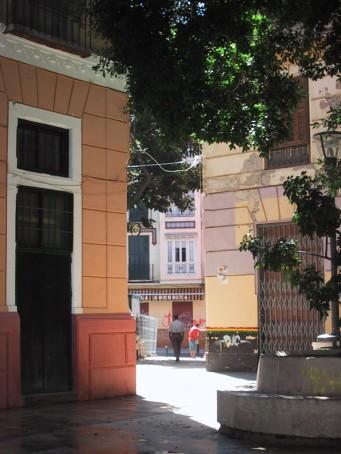 La Plaza del Teatro desde la plaza