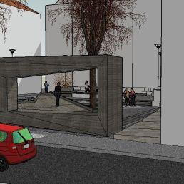 4. El encuadre del escenario. Maqueta virtual