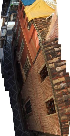 Panorámica cenital de calle Horno
