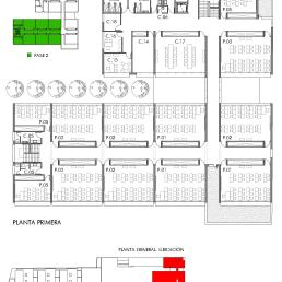 Planta primera edificio de Primaria