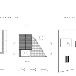 Secciones C-C + D-D