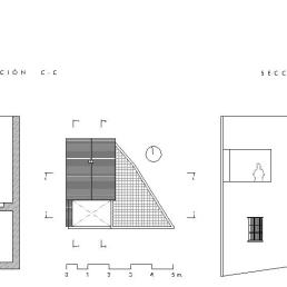 Secciones C-C + D-D. Final de obra