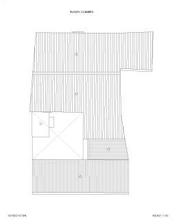 Callejón Largo 4. Planta cubierta