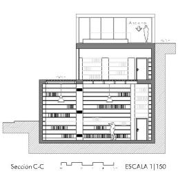 Secciones B-B, C-C y D-D