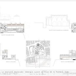 Plano 08 Secciones y alzados interiores