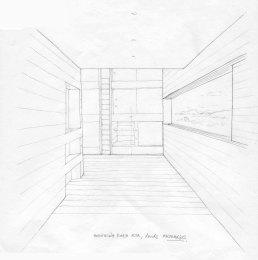 Habitación para 6 personas, boceto
