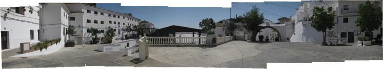 Panorámica de la Plaza del Llano